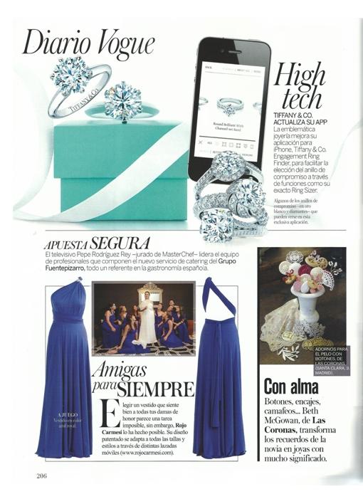 Vogue Novias. Otoño/Invierno 2013-2014. Pág 206